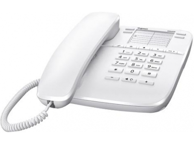 Телефон аналоговый Siemens Gigaset DA410 IM White