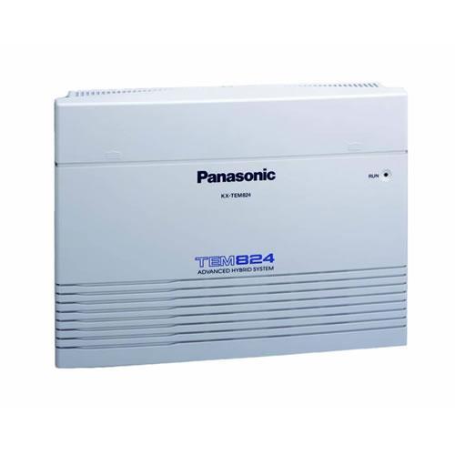 Мини АТС PANASONIC KX-TDA-100DRP: 8CO-4DT, 24SLT