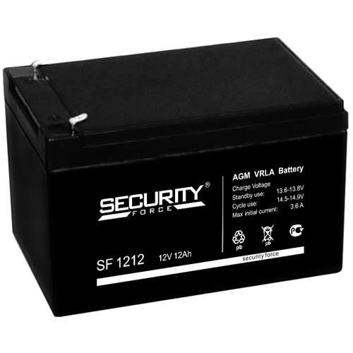 Аккумулятор SF 1212 12В 12Ач