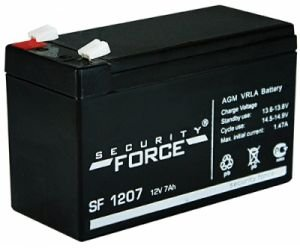 Аккумулятор SF 1207 12В 7Ач