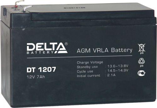 Аккумулятор OP 1207 12В 7Ач