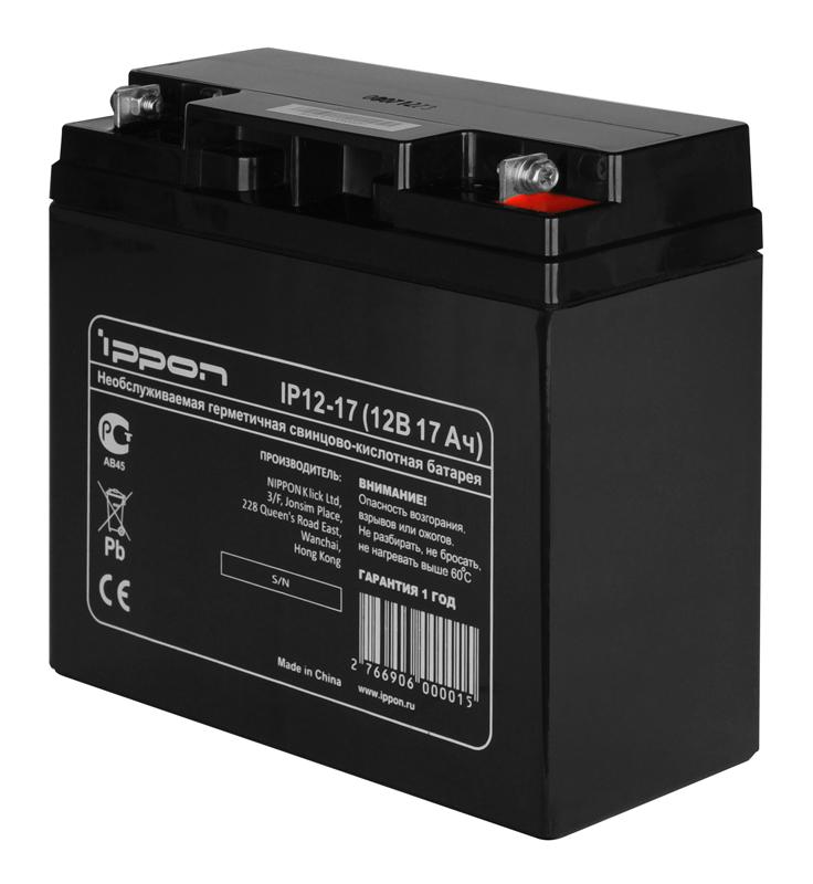 Аккумулятор IPPON IP12-17