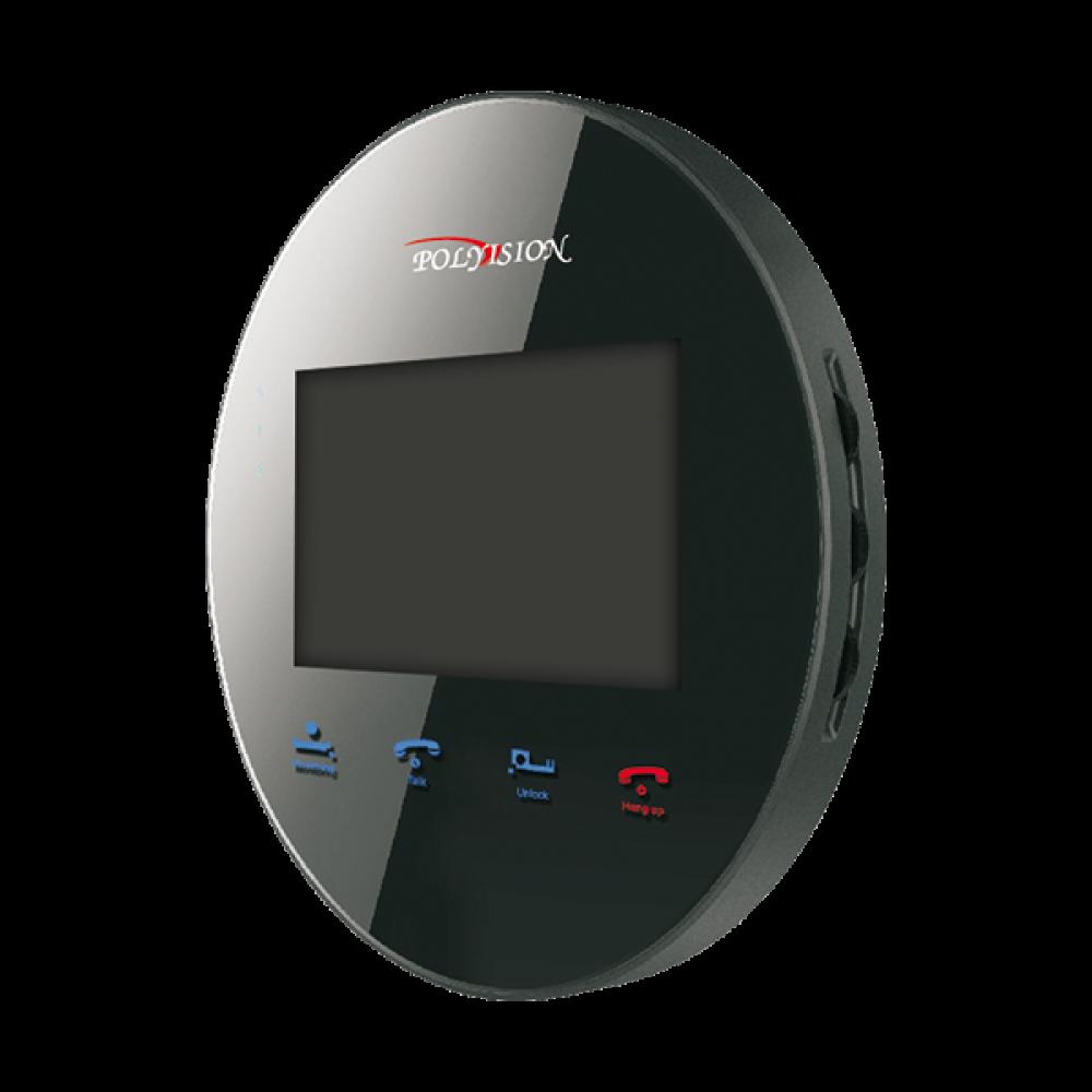 Домофон цветной Polyvision PVD-4S v.5.3 black