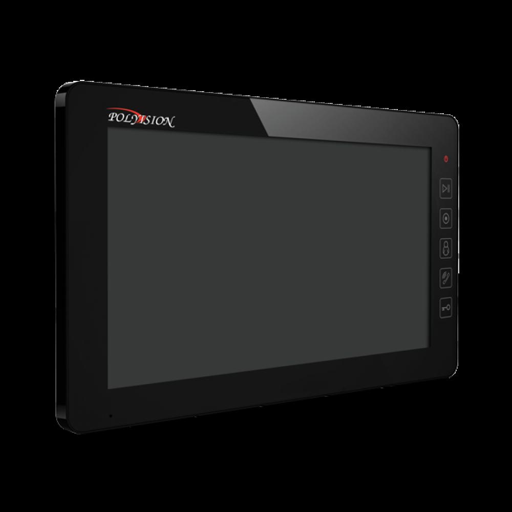 Домофон цветной Polyvision PVD-10M v.7.1 black