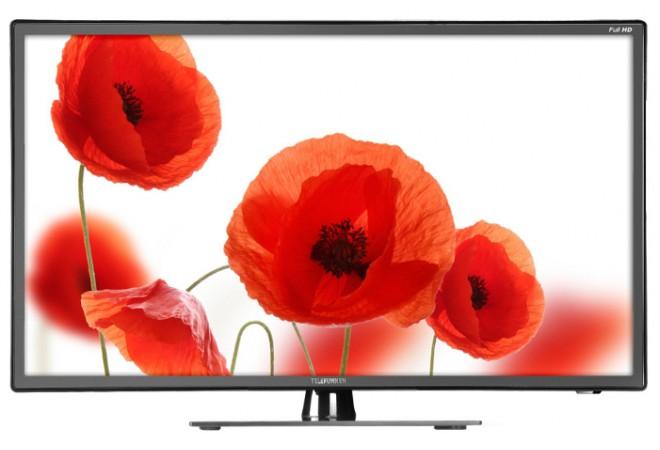 """Телевизор LED Telefunken 39.5"""" TF-LED40S28T2 """"R"""" черный/FULL HD/50Hz/DVB-T/DVB-T2/DVB-C/USB (RUS)"""