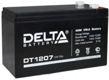 Аккумулятор DTM 1207 12В 7Ач