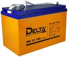Аккумулятор Delta HRL 12100