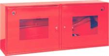 Щит пожарный металлический закрытого типа с комплектом