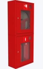 ШПК-320 ВОК шкаф пожарный (встроенный, со стеклом, красный)