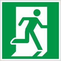 Знак-Плёнка (Е 15) Направление к эвакуац.выходу по лестнице вверх, правосторонний