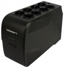 Источник бесперебойного питания Ippon SMART PowerPro 2000 Black 2000ВА/1200Вт, USB + RS-232 + RJ-45
