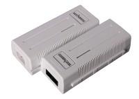 Удлинитель интерфейса  Powertone PoE 10/100Mbs